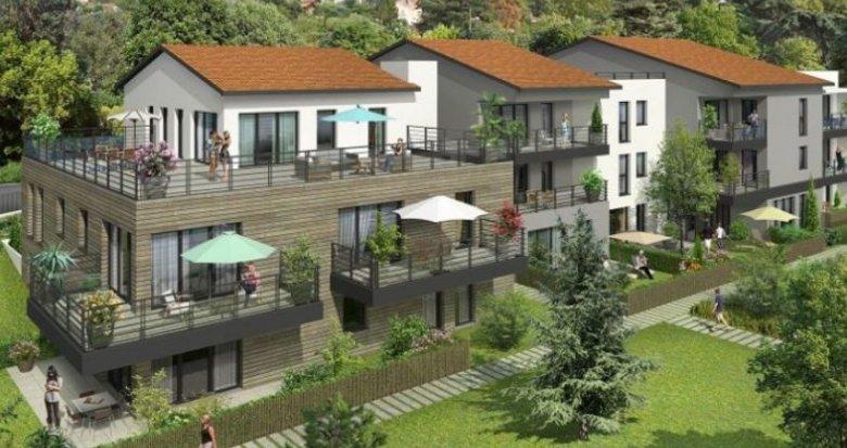 Achat / Vente immobilier neuf Collonges-au-Mont-d'Or quartier résidentiel (69660) - Réf. 1357