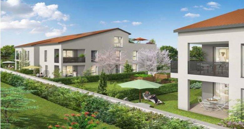 Achat / Vente immobilier neuf Corbas proche gare Saint-Priest (69960) - Réf. 3497