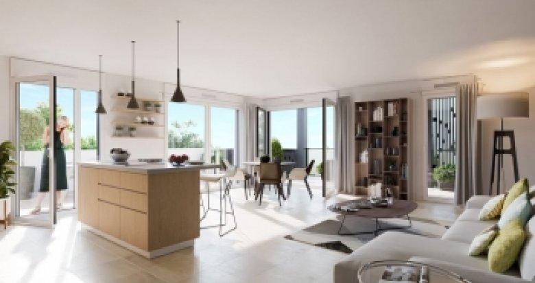 Achat / Vente immobilier neuf Craponne proche place Marie-Andrée (69800) - Réf. 2222