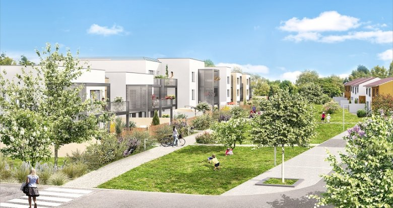 Achat / Vente immobilier neuf Dardilly quartier pavillonnaire proche mairie (69570) - Réf. 2042