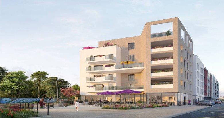 Achat / Vente immobilier neuf Décines-Charpieu à 5 min à pied du T3 et T7 (69150) - Réf. 5624