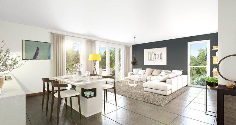 Achat / Vente immobilier neuf Décines-Charpieu au coeur de ville (69150) - Réf. 4608