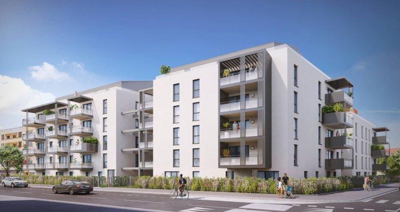 Achat / Vente immobilier neuf Décines-Charpieu centre proche mairie (69150) - Réf. 6224
