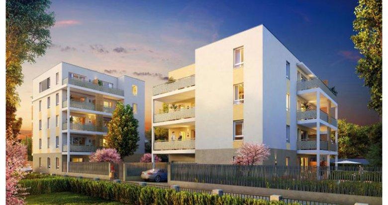 Achat / Vente immobilier neuf Décines-Charpieu proche Parc Maurice Sauthier (69150) - Réf. 966