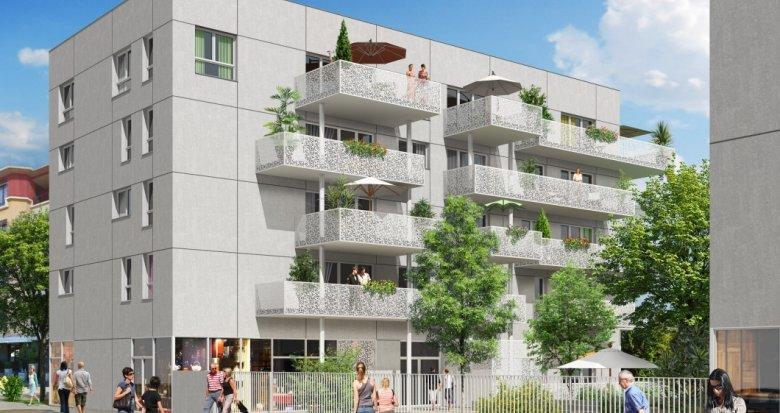 Achat / Vente immobilier neuf Décines en face de la place François Mitterrand (69150) - Réf. 2228