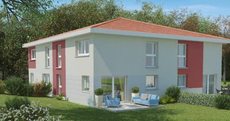 Achat / Vente immobilier neuf Echalas, vue panoramique (69700) - Réf. 393