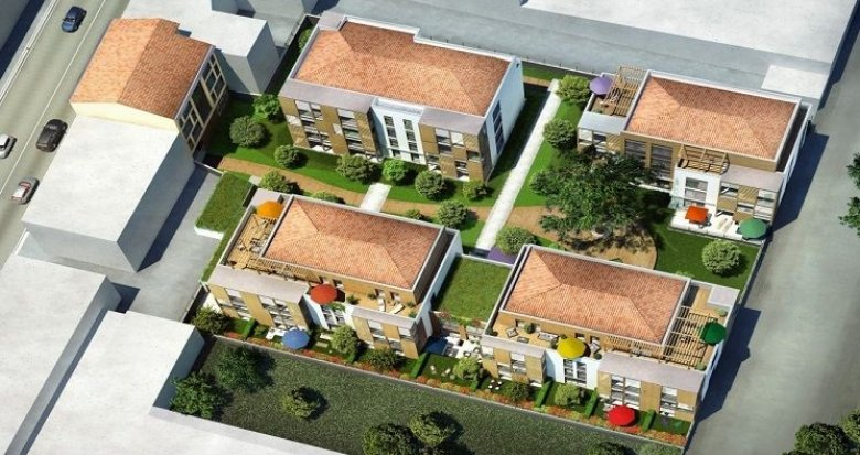 Achat / Vente immobilier neuf Ecully proche centre et 10 minutes de Bellecour (69130) - Réf. 1456
