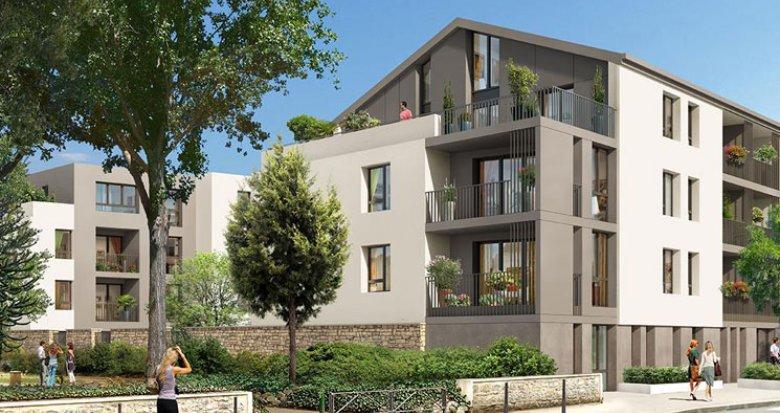Achat / Vente immobilier neuf Ecully proche Parc des Chênes (69130) - Réf. 908