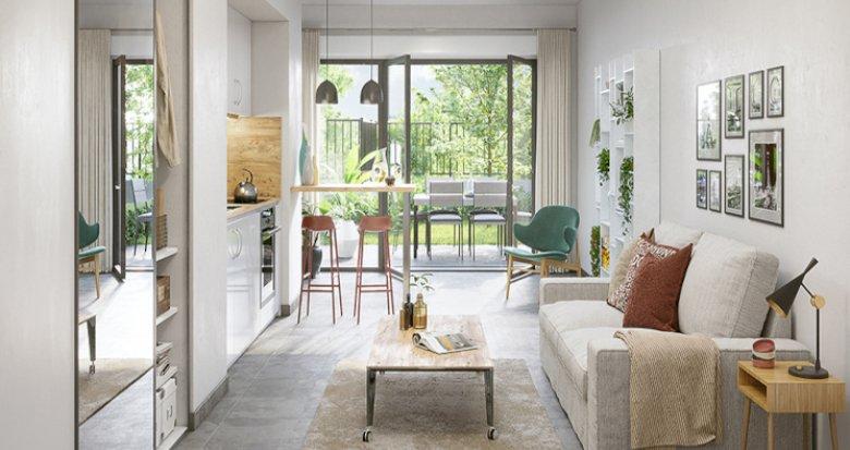 Achat / Vente immobilier neuf Feyzin à 5 min du Parc de l'Europe (69320) - Réf. 5512