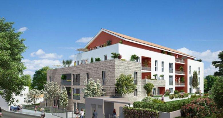 Achat / Vente immobilier neuf Feyzin face au Parc de l'Europe (69320) - Réf. 1374