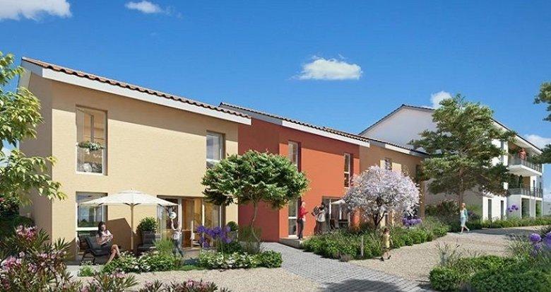 Achat / Vente immobilier neuf Feyzin quartier de la Bégude (69320) - Réf. 1151