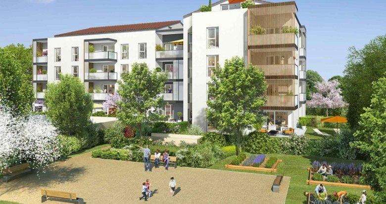 Achat / Vente immobilier neuf Francheville Bel-Air (69340) - Réf. 575