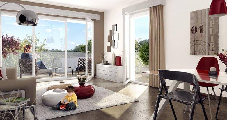 Achat / Vente immobilier neuf Givors à côté de la gare du centre (69700) - Réf. 840