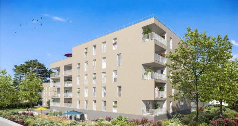 Achat / Vente immobilier neuf Gleizé à 15 min Gare de Villefranche (69400) - Réf. 4954
