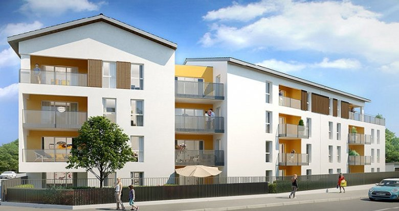 Achat / Vente immobilier neuf Grigny proche transports en commun (69520) - Réf. 303