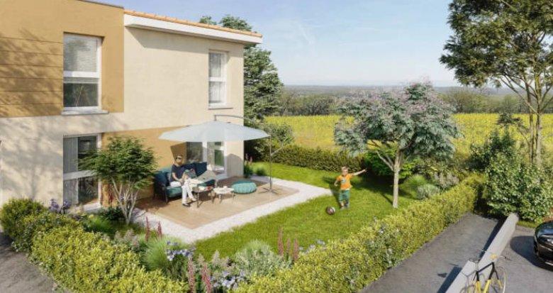 Achat / Vente immobilier neuf Jons portes de Lyon (69330) - Réf. 2831