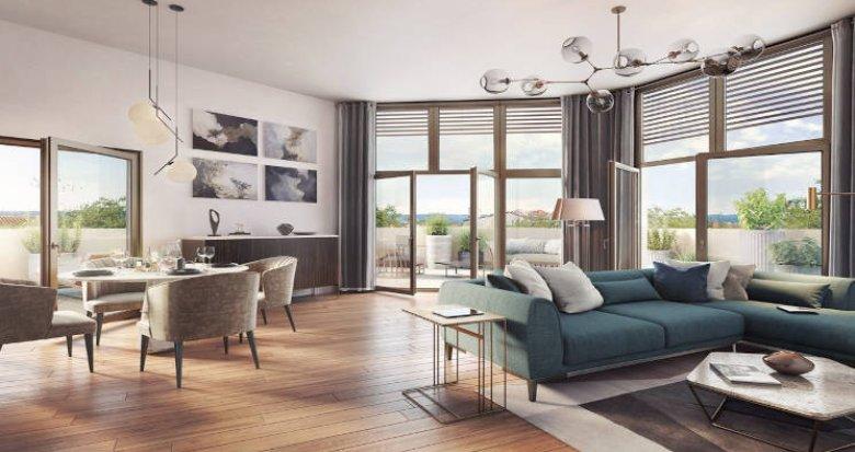 Achat / Vente immobilier neuf Lyon 03 à 15 min à pied de la Part Dieu (69003) - Réf. 5571