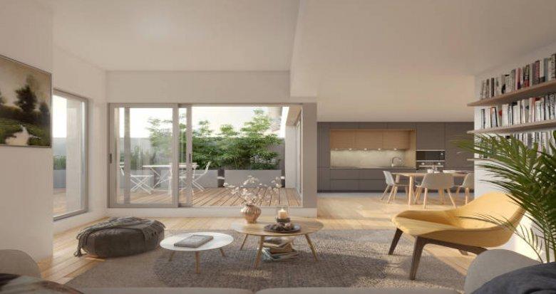 Achat / Vente immobilier neuf Lyon 03 à 350m du T4 Dauphiné-Lacassagne (69003) - Réf. 5682