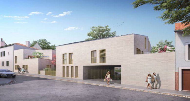 Achat / Vente immobilier neuf Lyon 03 au cœur du quartier prisé de Montchat (69003) - Réf. 5504