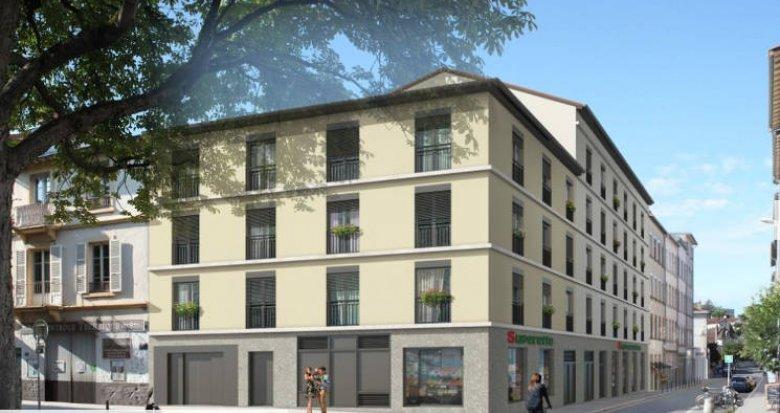Achat / Vente immobilier neuf Lyon 05 quartier Saint-Just (69005) - Réf. 3096