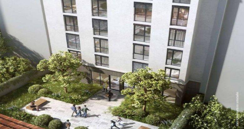 Achat / Vente immobilier neuf Lyon 07 résidence étudiante – quartier Saint-Louis (69007) - Réf. 5311