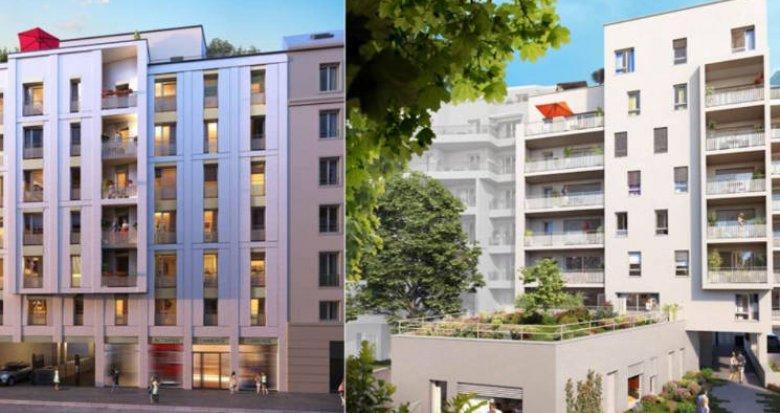 Achat / Vente immobilier neuf Lyon 08 à deux pas du métro D (69008) - Réf. 4498