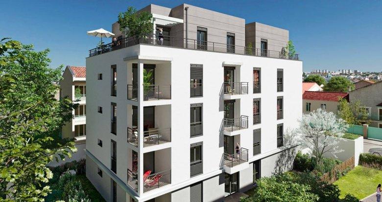 Achat / Vente immobilier neuf Lyon 08 à deux pas du métro D Mermoz Pinel (69008) - Réf. 6256