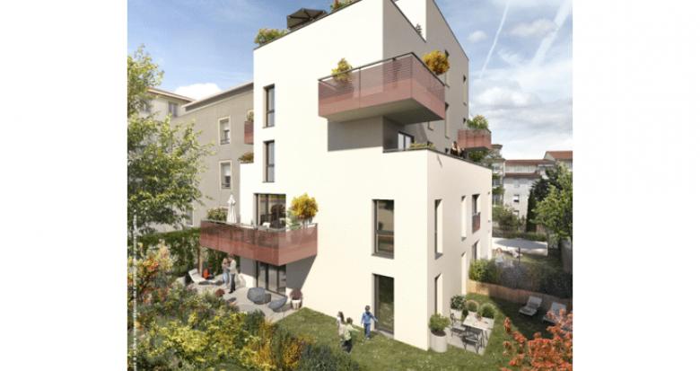 Achat / Vente immobilier neuf Lyon 08 proche métro Laënnec (69008) - Réf. 5405