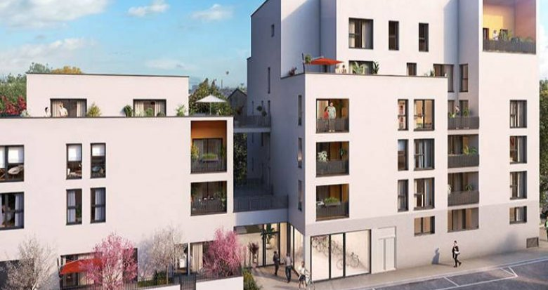 Achat / Vente immobilier neuf Lyon 08 proche transports (69008) - Réf. 4407