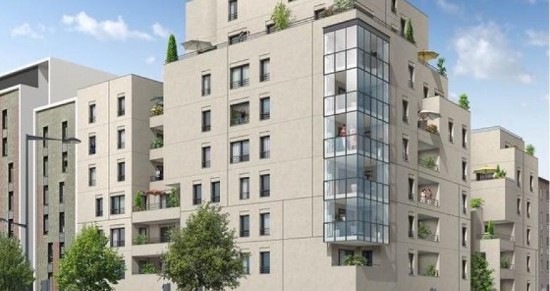 Achat / Vente immobilier neuf Lyon 08 quartier Monplaisir (69008) - Réf. 3499