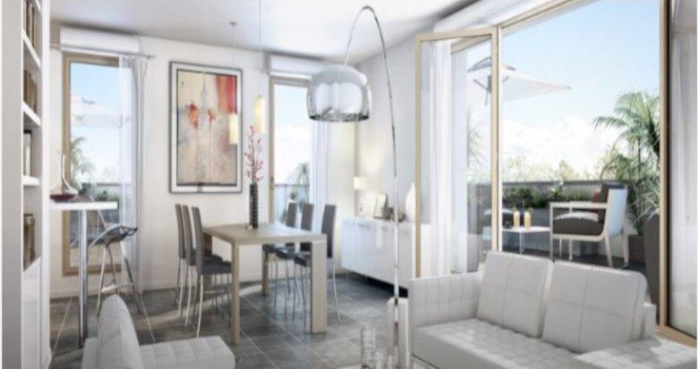 Achat / Vente immobilier neuf Lyon 3 en bordure du Parc Bazin (69003) - Réf. 2846