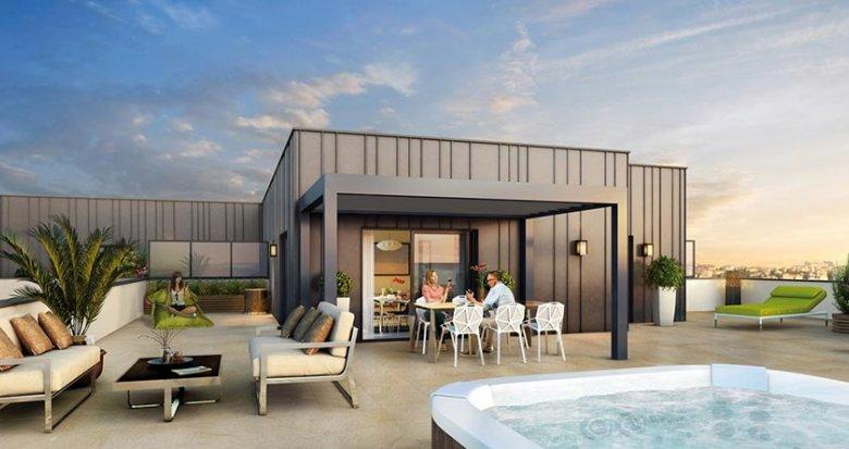 Achat / Vente immobilier neuf Lyon 3 proche du Parc Georges Bazin (69003) - Réf. 435