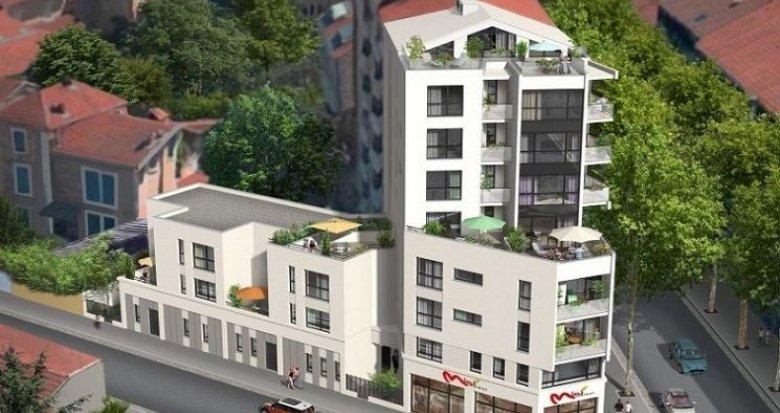 Achat / Vente immobilier neuf Lyon 3 quartier résidentiel Montchat (69003) - Réf. 1312