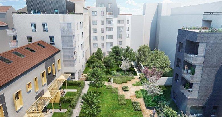 Achat / Vente immobilier neuf Lyon 6 proche quartier des Brotteaux (69006) - Réf. 3541