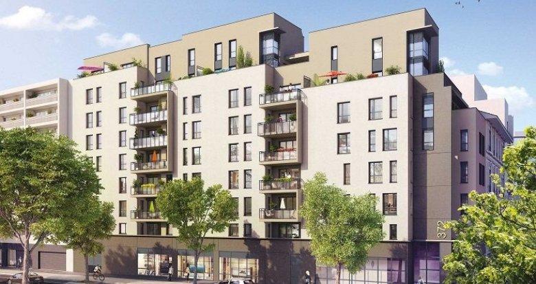 Achat / Vente immobilier neuf Lyon 7 proche Jean Macé et Garibaldi (69007) - Réf. 1065