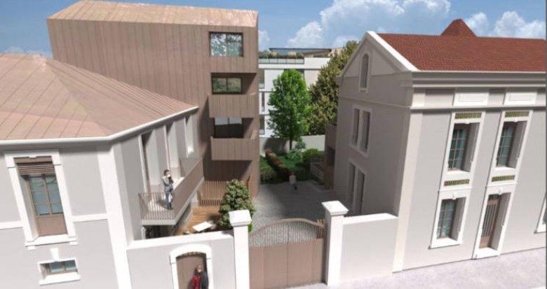 Achat / Vente immobilier neuf Lyon 7 proximité quartier Gerland (69007) - Réf. 2772