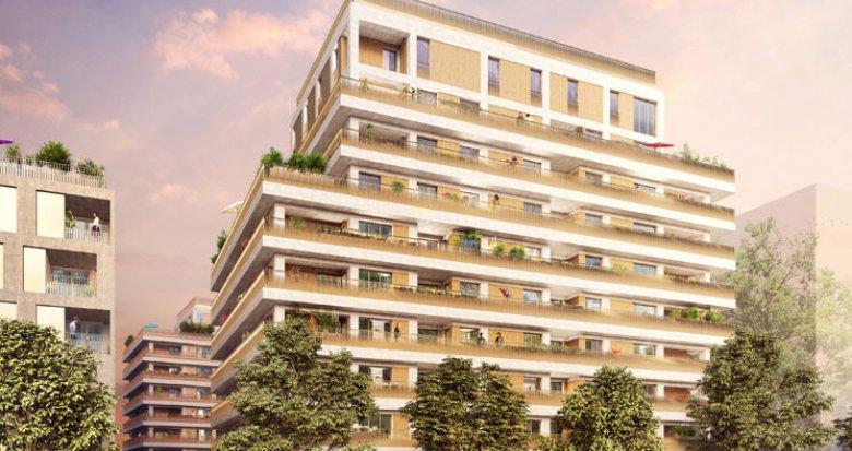 Achat / Vente immobilier neuf Lyon 7 quartier des Girondins (69007) - Réf. 1239