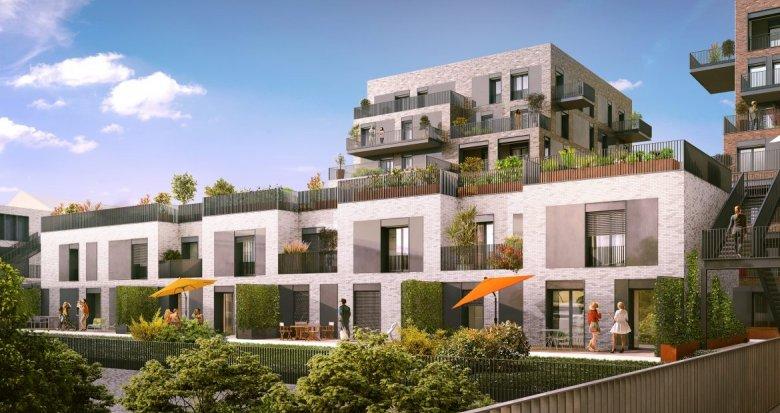 Achat / Vente immobilier neuf Lyon 7 quartier Gerland (69007) - Réf. 1253