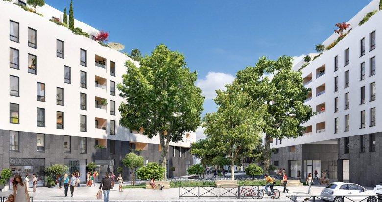 Achat / Vente immobilier neuf Lyon 7 quartier Jean-Macé (69007) - Réf. 594