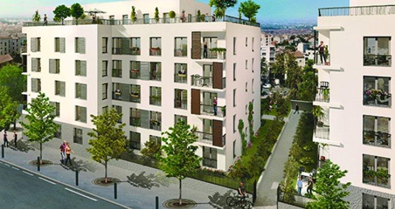 Achat / Vente immobilier neuf Lyon 7, quartier Jean-Macé (69007) - Réf. 945