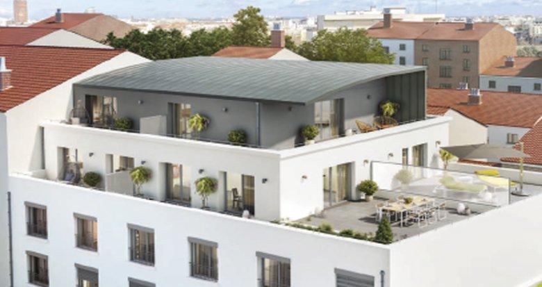 Achat / Vente immobilier neuf Lyon 7ème proche parc Sergent Blandan (69007) - Réf. 1067
