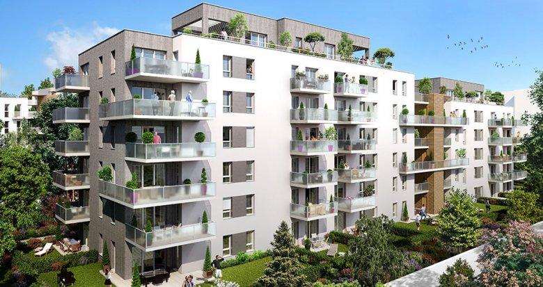 Achat / Vente immobilier neuf Lyon 7ème proche quartier de la Confluence (69007) - Réf. 1884