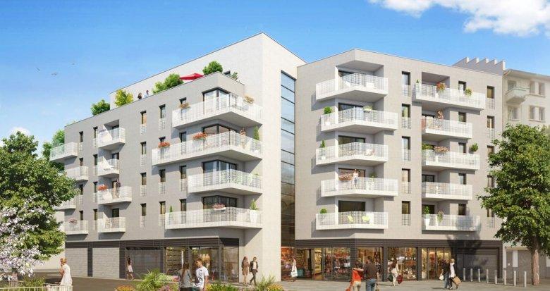 Achat / Vente immobilier neuf Lyon 8 place Lebret (69008) - Réf. 1228