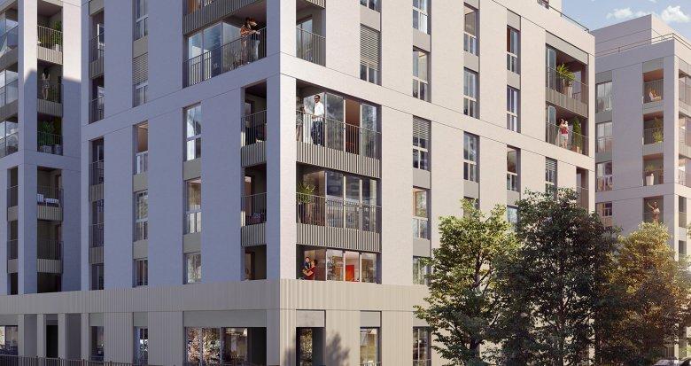 Achat / Vente immobilier neuf Lyon 8 proche futur tramway T6 (69008) - Réf. 3223