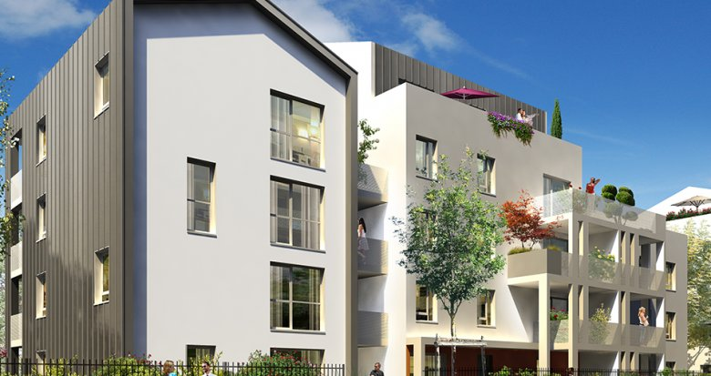 Achat / Vente immobilier neuf Lyon 8 proche Jean Macé (69008) - Réf. 1242