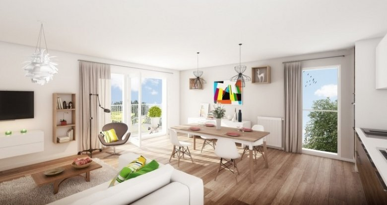 Achat / Vente immobilier neuf Lyon 8 proche Mermoz Pinel (69008) - Réf. 4126