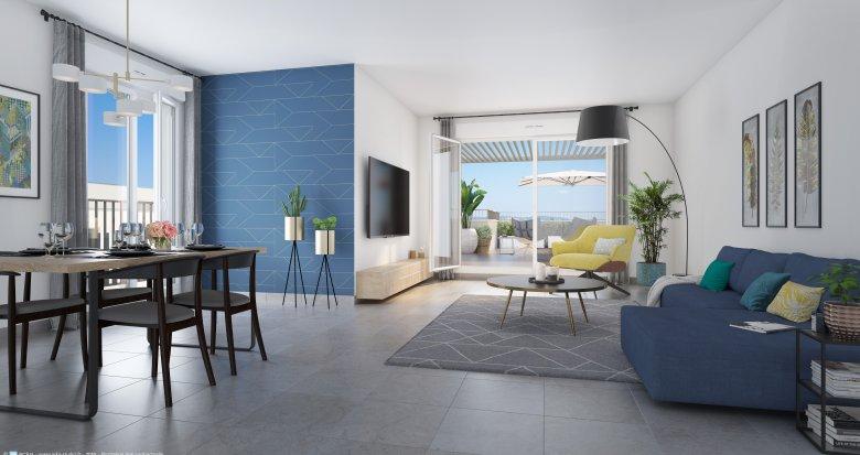 Achat / Vente immobilier neuf Lyon 8 proches des transports (69008) - Réf. 3890