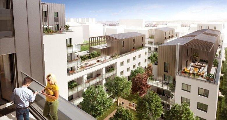 Achat / Vente immobilier neuf Lyon 8 quartier résidentiel de Monplaisir (69008) - Réf. 756