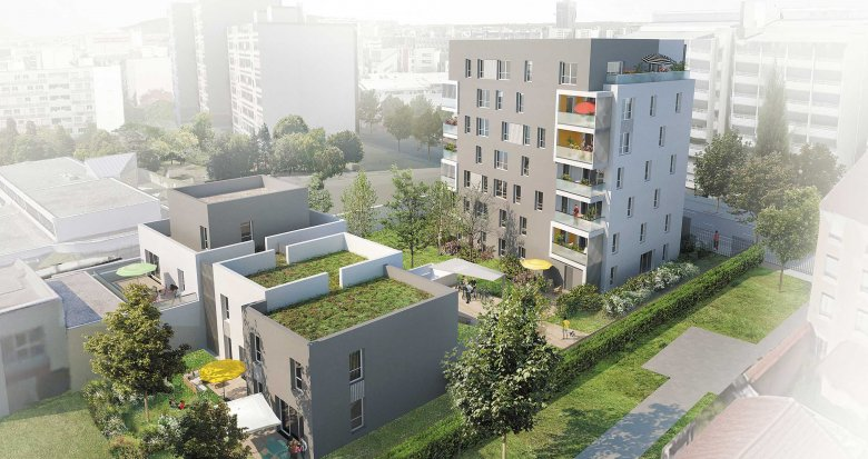 Achat / Vente immobilier neuf Lyon 8e proche des transports (69008) - Réf. 1154