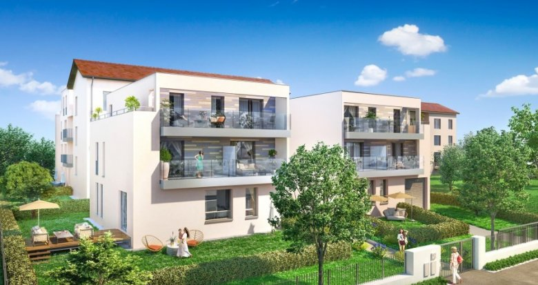 Achat / Vente immobilier neuf Lyon 9 proche quais de Saône (69009) - Réf. 713